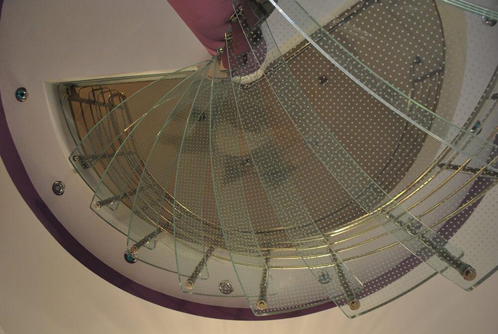 Scara circulara din sticla - 3