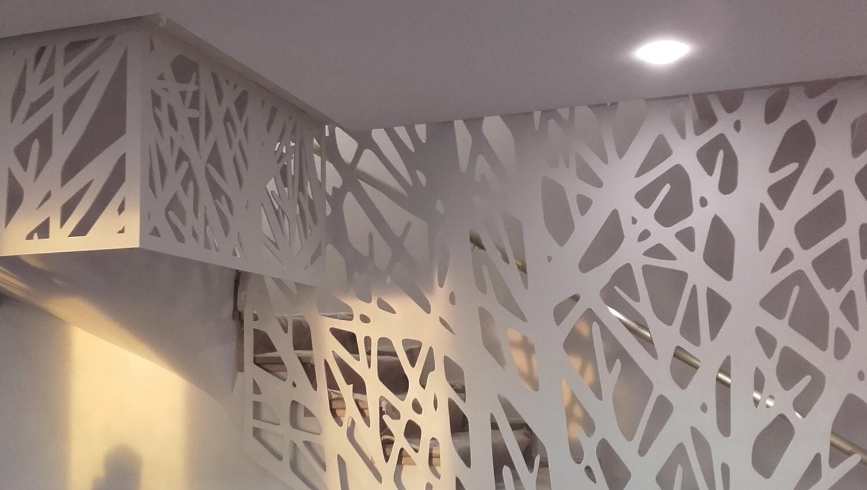 Balustrada Laser Cut - Lucrare 04 - 2