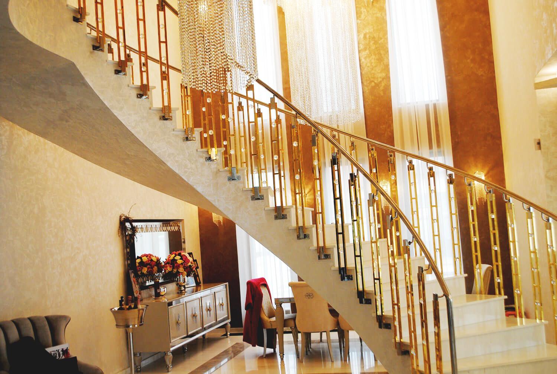 Balustrada Art - Balustrada Cristale Swarovski - Lucrare 02 - 5