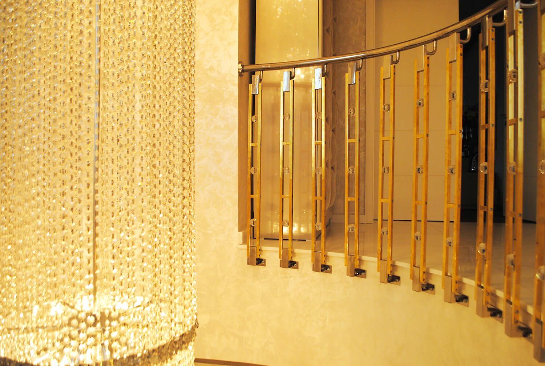 Balustrada Art - Balustrada Cristale Swarovski - Lucrare 02