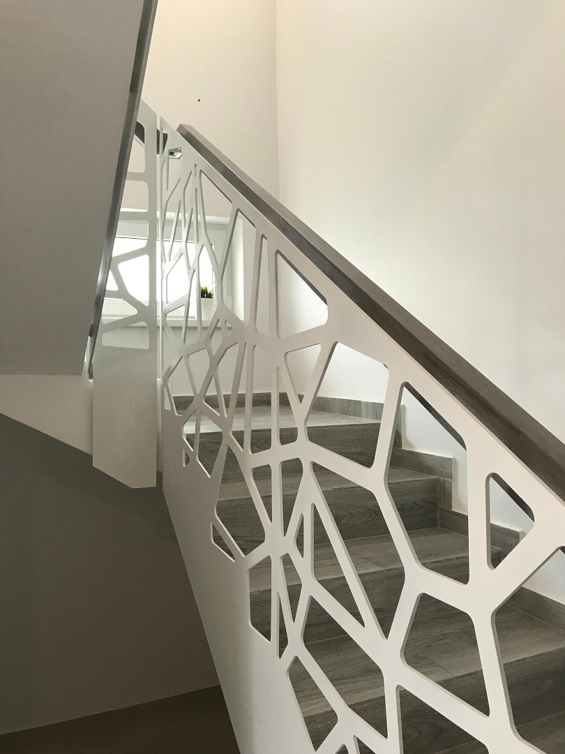 Balustrada Laser Cut - Lucrare 19