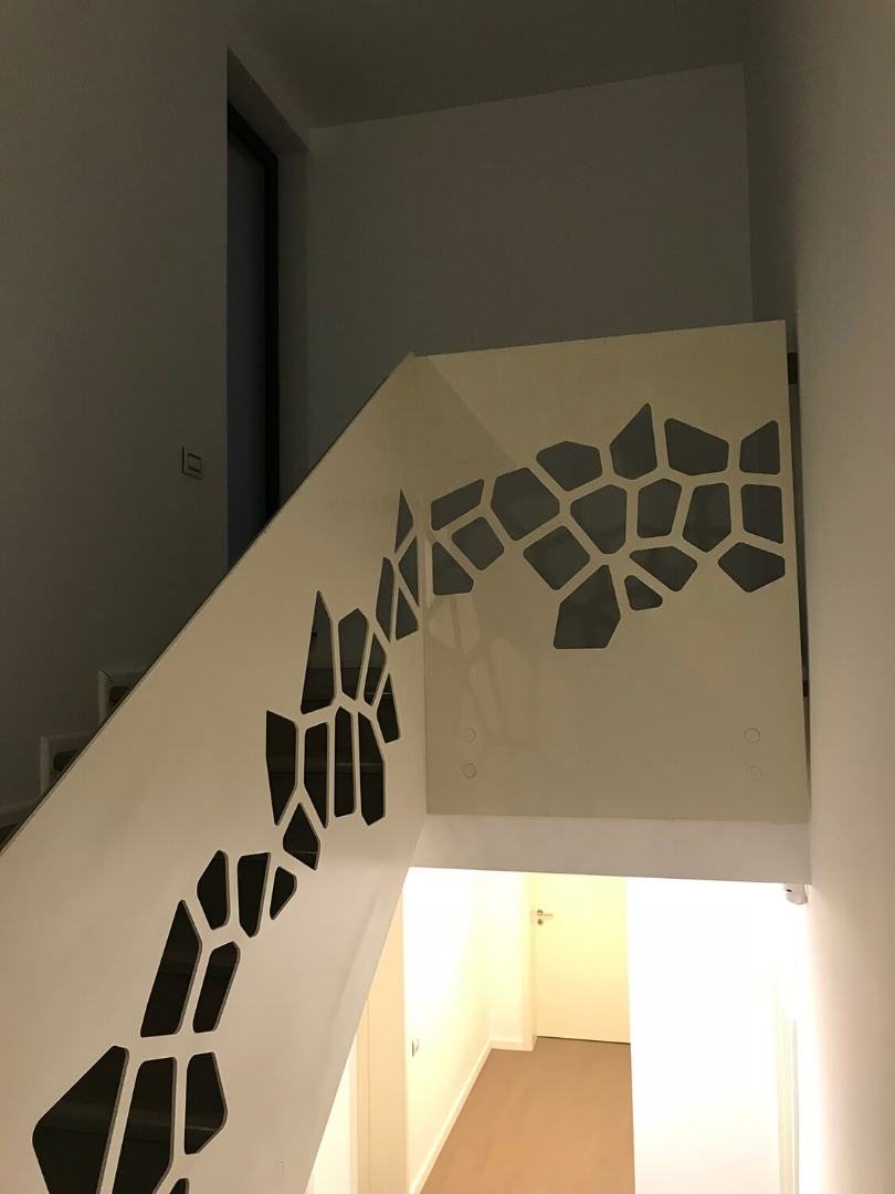 Balustrada Laser Cut - Lucrare 11