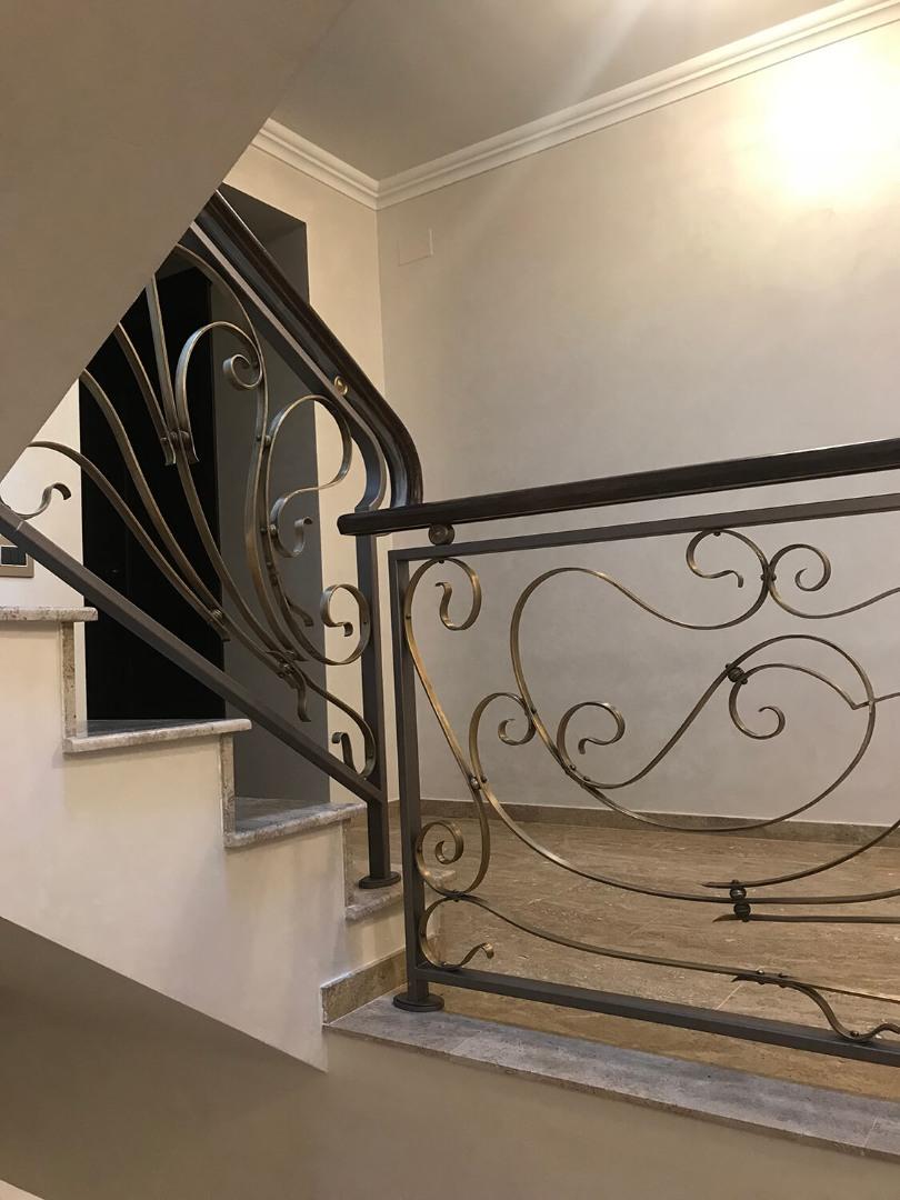 Balustrada Art Nouveau- Alama patinată - Lucrare 04 - 3