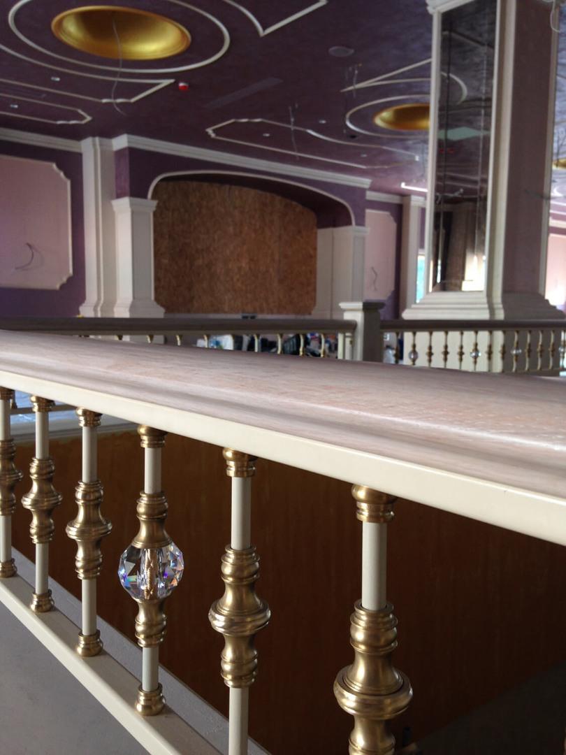 Balustrada Art - Balustrada Cristale Swarovski - Lucrare 04