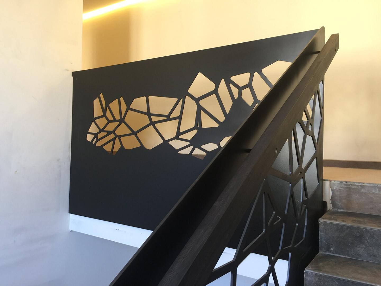 Balustrada Laser Cut - Lucrare 18