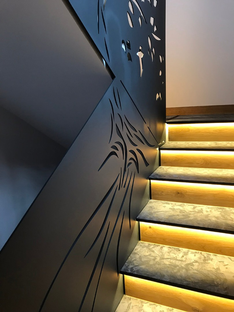 Balustrada Laser Cut - Lucrare 06