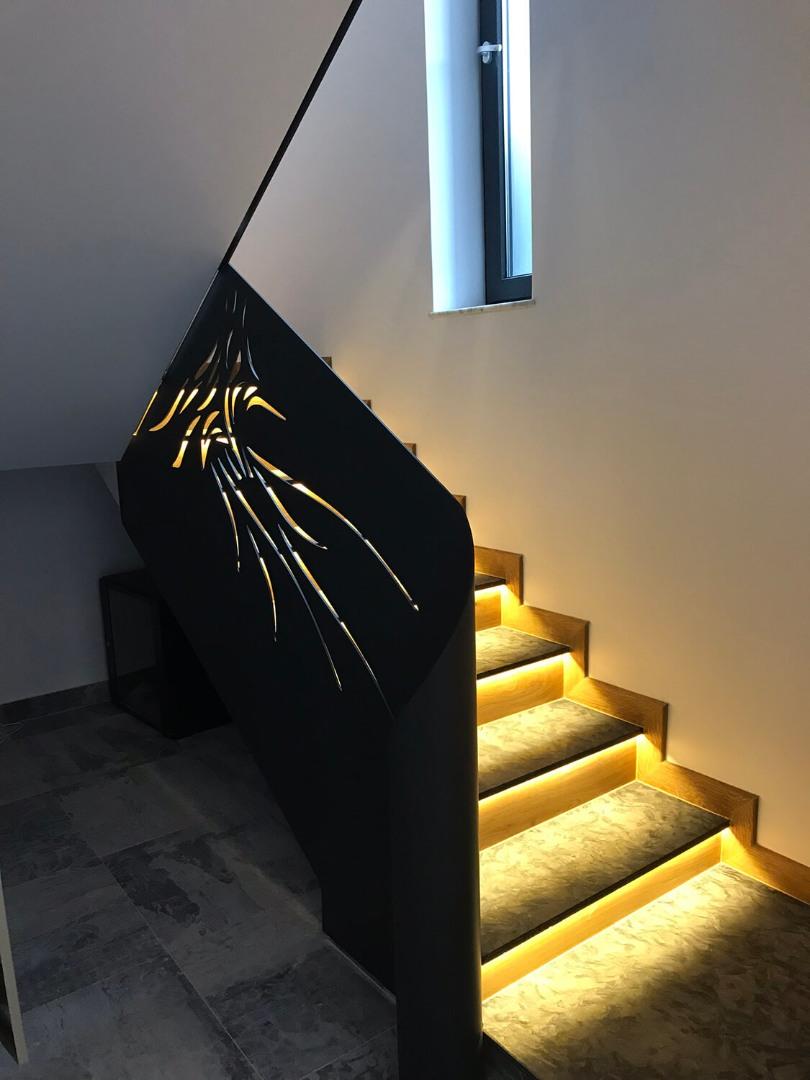 Balustrada Laser Cut - Lucrare 06 - 2