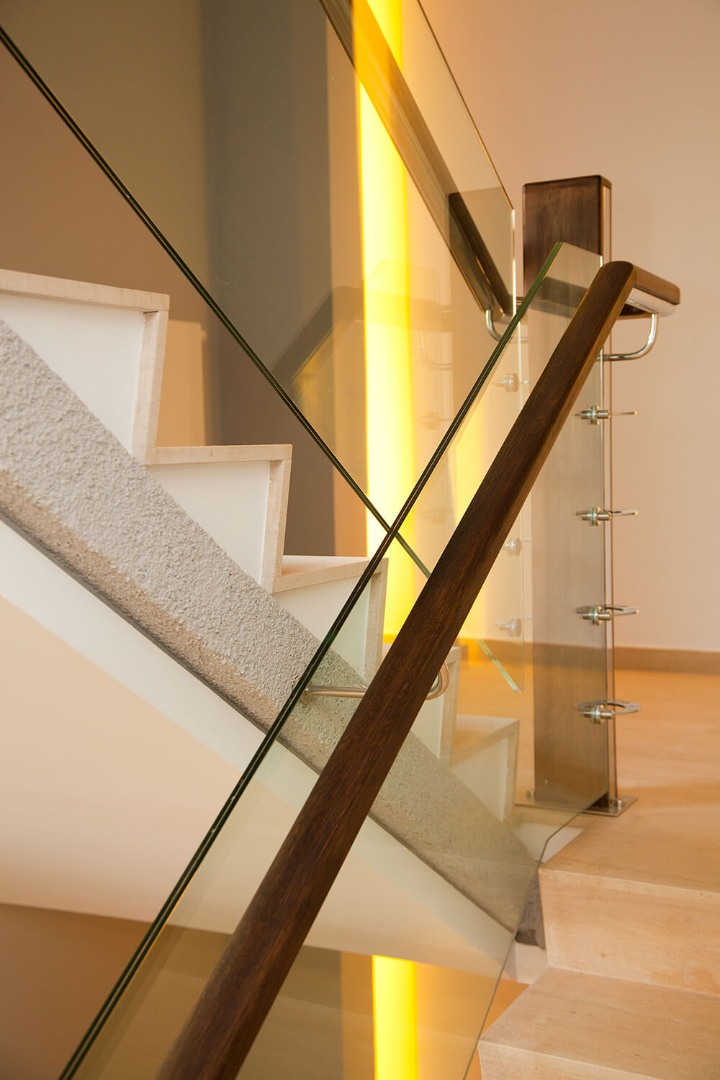 Balustrada Sticla - Lucrare 01