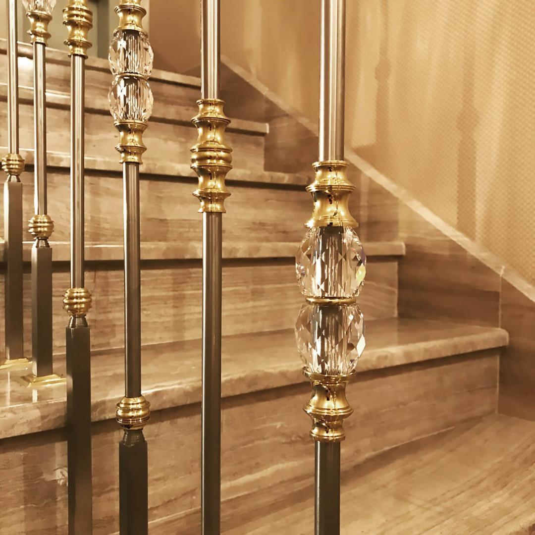 Balustrada Art - Balustrada Cristale Swarovski - Lucrare 01 - 4