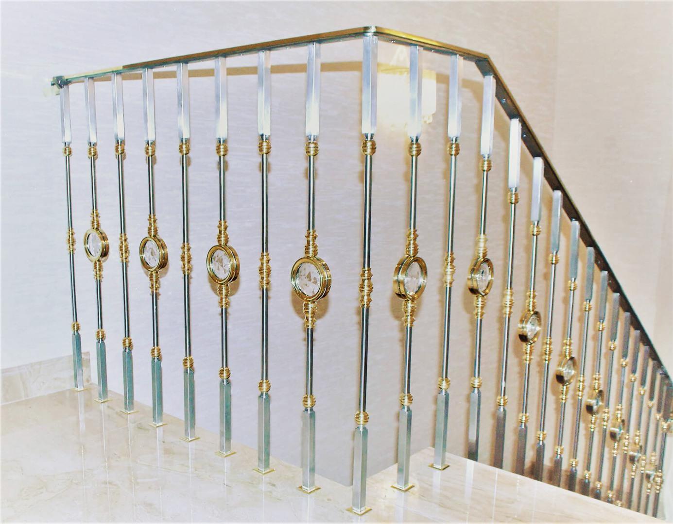 Balustrada Art - Balustrada Cristale Swarovski - Lucrare 03 - 6