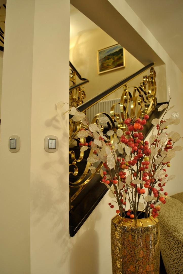 Balustrada Art -nouveau alamă - 5